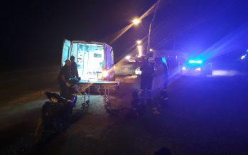 Monte Vera: dos jóvenes heridos en siniestro vial