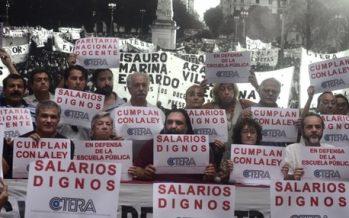 La Casa Rosada eliminó por decreto la paritaria nacional docente