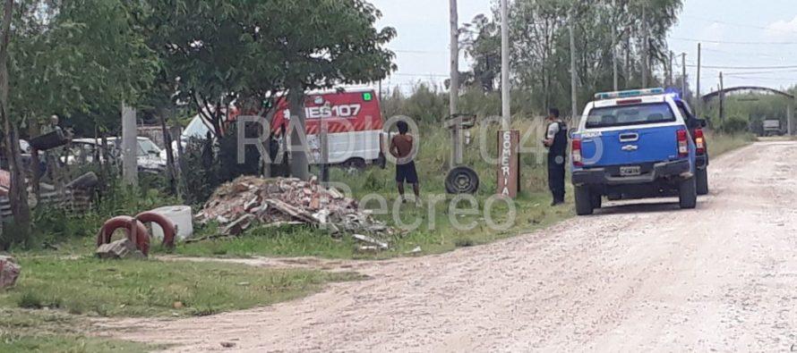 Disparos sobre calle Santa Fe en la ciudad de Recreo