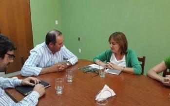 El Intendente Colombo recibió a la ministra de la Producción Alicia Ciciliani