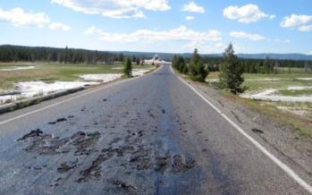Se derriten las rutas en Australia por un calor sin precedentes