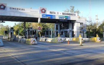 Levantan las barreras de los peajes en Ruta 11 durante el fin de semana largo