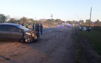Fuerte accidente en ruta 11 deja tres heridos de Recreo
