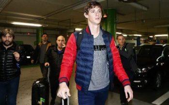 Germán Conti llegó a Portugal para la revisión médica