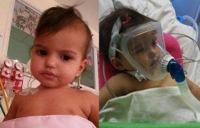 Por el milagro: una beba rosarina espera urgente un trasplante de corazón