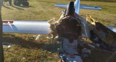 Falleció la piloto que se accidentó con su planeador en Esperanza