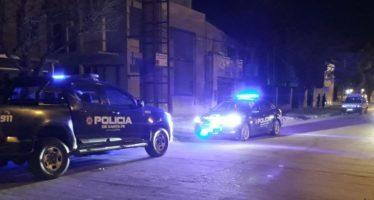 Intento de robo en viviendas del centro y un fuerte operativo policial y GUR