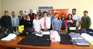 Se realizó la entrega de uniformes a empleados municipales