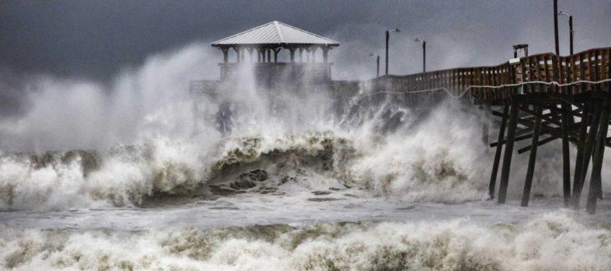 """El huracán """"Florence"""" comienza a inundar Estados Unidos (VIDEO)"""