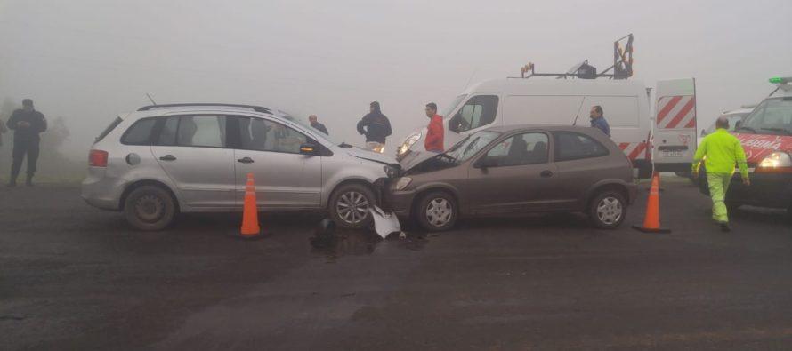 Choque frontal en la Autopista Santa Fe – Rosario