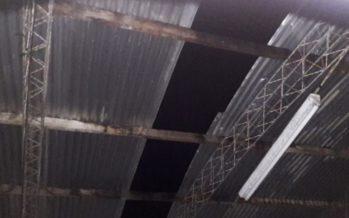 Un fuerte temporal provocó destrozos en Colonia Teresa